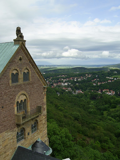 The Wartburg Castle in Eisenach, Germany